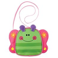 Preschooler crossbody purse | Butterfly crossbody purse for toddlers