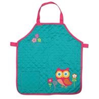QUILTED APRON  OWL (F13)